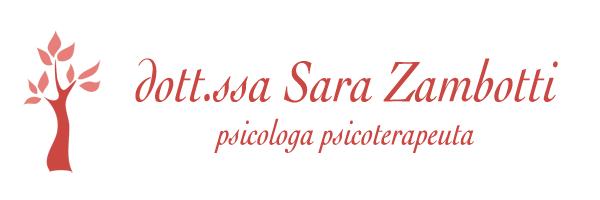 Sara Zambotti psicologa psicoterapeuta